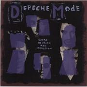 Depeche Mode Songs Of Faith And Devotion UK vinyl LP