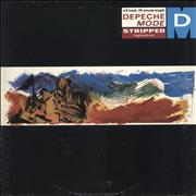 "Depeche Mode Stripped (Highland Mix) - 1st - EX UK 12"" vinyl"