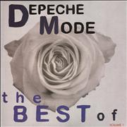 Depeche Mode The Best Of: Volume One - Sealed UK 3-LP vinyl set