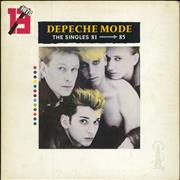 Click here for more info about 'Depeche Mode - The Singles 81-85 - Stickered sleeve'