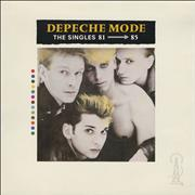 Click here for more info about 'Depeche Mode - The Singles 81-85 - VG/EX'