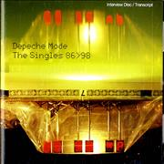 Click here for more info about 'Depeche Mode - The Singles 86>98: Interview Disc/transcript'