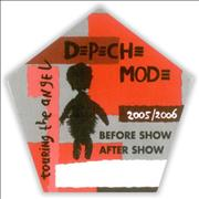 Click here for more info about 'Depeche Mode - Touring The Angel: Before Show / After Show'