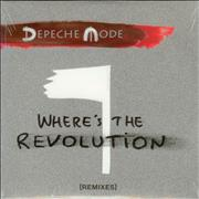 Click here for more info about 'Depeche Mode - Where's The Revolution (Remixes) - Sealed'