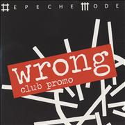 Click here for more info about 'Wrong - Club Promo'