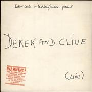 Click here for more info about 'Derek And Clive - Derek And Clive Live'