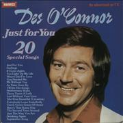 Click here for more info about 'Des O'Connor - Just For You'