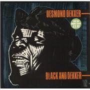 Click here for more info about 'Desmond Dekker - Black And Dekker - VG+'
