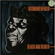 Click here for more info about 'Desmond Dekker - Black And Dekker'