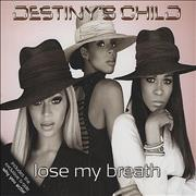 Click here for more info about 'Destiny's Child - Lose My Breath'
