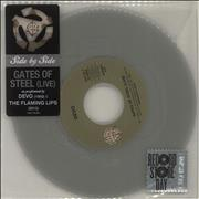 Click here for more info about 'Devo - Gates Of Steel (Live) - RSD14 - Silver Vinyl'