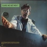 Click here for more info about 'Q: Are We Not Men? A: We Are Devo! - Green vinyl'