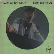 Click here for more info about 'Q:Are We Not Men A: We Are Devo! + Flexi & insert'