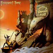 Diamond Head Borrowed Time - EX + Poster UK vinyl LP