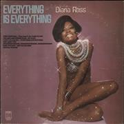 Click here for more info about 'Diana Ross - Everything Is Everything - White label'