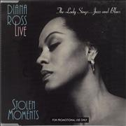 Click here for more info about 'Diana Ross - Live - Stolen Moments Sampler - The Lady Sings... Jazz And'