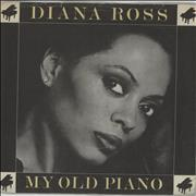 Click here for more info about 'Diana Ross - My Old Piano - P/S'
