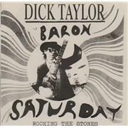 "Dick Taylor Rocking The Stones EP Netherlands 7"" vinyl"