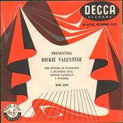 Click here for more info about 'Dickie Valentine - Presenting Dickie Valentine'
