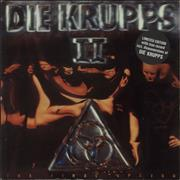 Click here for more info about 'Die Krupps - II - The Final Option - Red & Blue Splattered Vinyl'