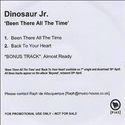 Click here for more info about 'Dinosaur Jr - Been There All The Time'