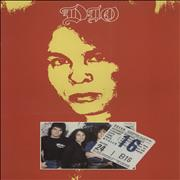 Click here for more info about 'Dio - Tour Programme - Red Cover + Ticket Stub'