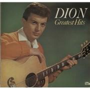 Dion Greatest Hits UK vinyl LP