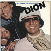 Dion Return Of The Wanderer UK vinyl LP