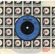 """Dion The Wanderer UK 7"""" vinyl"""