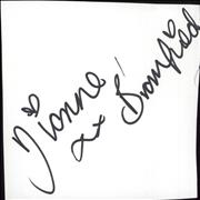Click here for more info about 'Dionne Bromfield - Autograph'