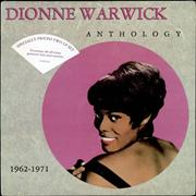 Click here for more info about 'Dionne Warwick - Anthology 1962-1971 - Sealed'