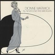 Click here for more info about 'Dionne Warwick - I'll Never Love This Way Again'