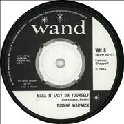 Click here for more info about 'Dionne Warwick - Make It Easy On Yourself'