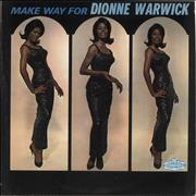 Click here for more info about 'Dionne Warwick - Make Way For Dionne Warwick - Blue & Black'