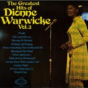 Click here for more info about 'Dionne Warwick - The Greatest Hits Of Dione Warwick Vol. 2'