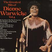 Click here for more info about 'Dionne Warwick - The Greatest Hits Of Dionne Warwicke Vol. 4'
