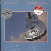 Click here for more info about 'Dire Straits - Brothers In Arms - Hype sticker - Shrink'