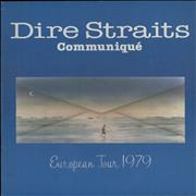 Dire Straits Communique - European Tour 1979 + Ticket Stub UK tour programme