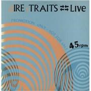 "Dire Straits Live Sampler - P/S UK 12"" vinyl Promo"