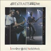 Click here for more info about 'Love Over Gold / Solid Rock - Live'