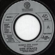 Click here for more info about 'Dire Straits - Romeo And Juliet - Jukebox'