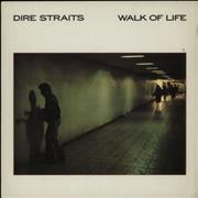 Click here for more info about 'Dire Straits - Walk Of Life - paper label'