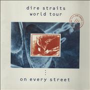 Click here for more info about 'Dire Straits - World Tour - On Every Street + Ticket Stub'