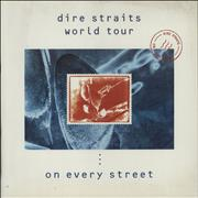 Click here for more info about 'Dire Straits - World Tour - On Every Street + Two Ticket Stubs'