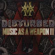 Click here for more info about 'Disturbed - Music As A Weapon II - Sampler'
