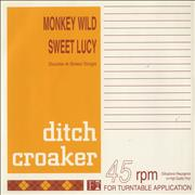 Click here for more info about 'Ditch Croaker - Monkey Wild/ Sweet Lucy'