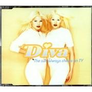 Diva The Sun Always Shines On Tv UK CD single Promo
