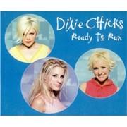 Dixie Chicks Ready To Run UK CD single Promo