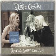 Dixie Chicks There's Your Trouble UK CD single Promo