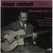 Click here for more info about 'Django Reinhardt - Django Reinhardt Et Le Quintette Du Hot-Club De France'